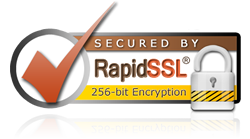 Secured with RapidSSL